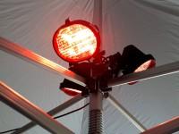 MVL Infrarot-Heizung für Faltzelte - Heizstrahler 1500 Watt   Alle Serien