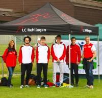 Ein Team-Zelt für Profis