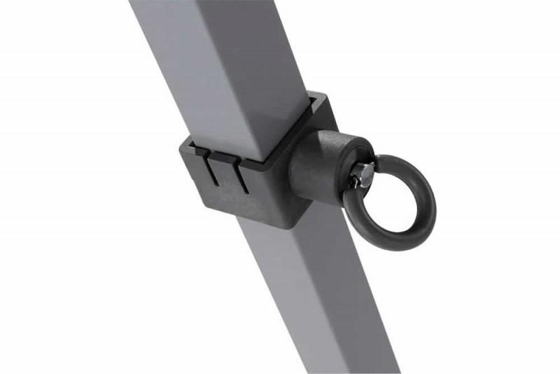 MVL-TENT® Steelero® Stahl Faltpavillon Standbein mit Verschluss