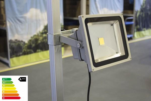 MVL LED Lampe 30W mit Befestigung im Set   Zeltbeleuchtung