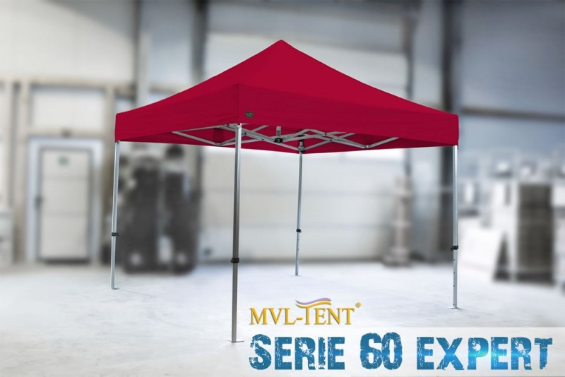 Faltzelt 3x3m MVL-TENT® Serie 60 eXpert