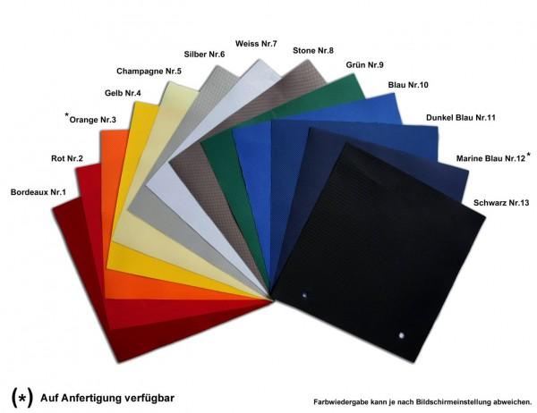 MVL-TENT® Stoffstücke für Reparatur von Dächern und Seitenwänden 20x20cm