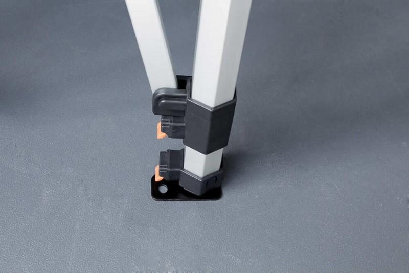 MVL-TENT® Faltzelt Stanbeinverschlüsse - Serie 45 Premium