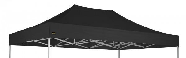 MVL-TENT® Dach für 4 x 6 Meter Faltpavillon. Farbe: Schwarz. | Restposten, Sonderpreis