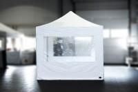MVL-TENT® Seitenwand mit Fenster 3m - mit Reißverschlüssen.