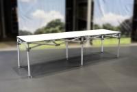 MVL-TENT® Falttisch aus Aluminium 282 x 75 cm