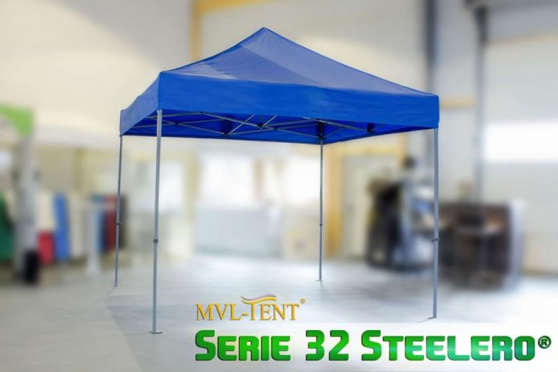 Faltzelt 3x3m MVL-TENT® Steelero®