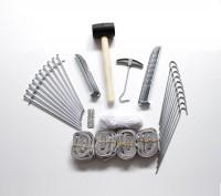 MVL-TENT® Faltzelt-Zubehör Set 54 Teile, zur Pavillon - Befestigung | Alle Serien