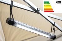 Mobile LED-Lampe 4,5 W. 100% wasserdicht, kabellos | Beleuchtung für Faltzelte, Camping, Outdoor