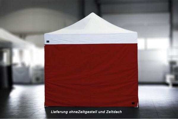 MVL-TENT ® Seitenwand Standard geschlossen. Größe: 3m, Farbe: Rot | Restposten