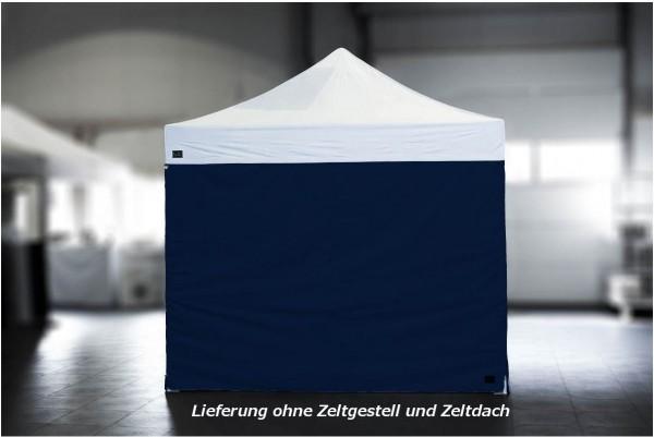 MVL-TENT ® Seitenwand Standard geschlossen, Größe: 3m, Farbe: Dunkel Blau | Restposten