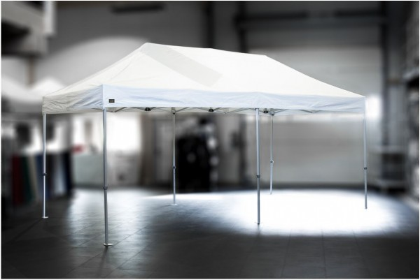 MVL-TENT® Alu Faltzelt Serie 60 Expert 4x8m | Restposten, gebraucht