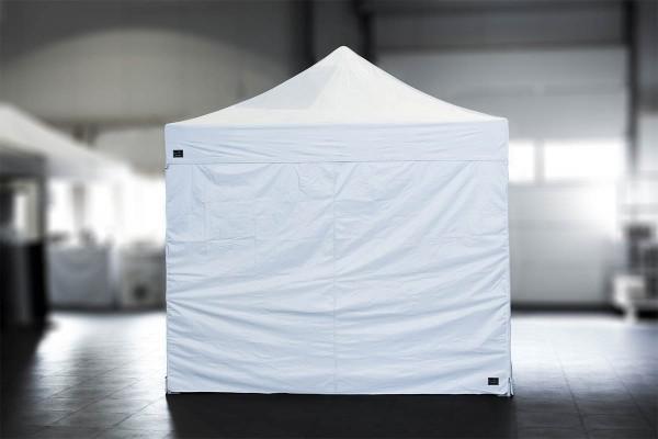 MVL-TENT® Seitenwand geschlossen 3m für Faltzelt 4x6m - mit Reißverschlüssen
