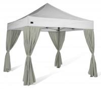 MVL-TENT ® Eckvorhänge für Faltpavillons 3x3, 3x4,5 und 3x6 m | Alle Serien