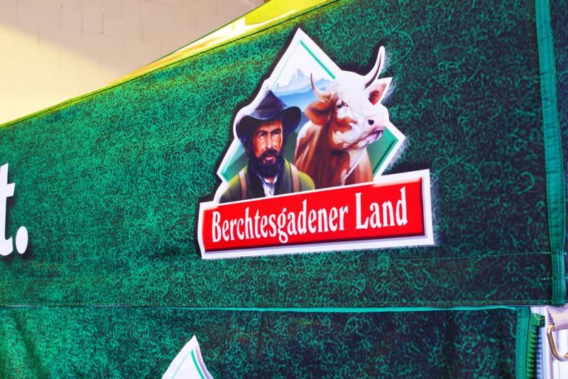 Faltpavillon bedruckt Berchtesgadener Land 2