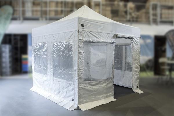 MVL-TENT® RESCUE Faltpavillon-Set | Serie 60 eXpert 4x4 4x6 4x8