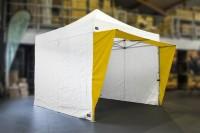 MVL TENT® Vordach Extra mit 2 Seitenteilen für Faltzelte / Marktzelte