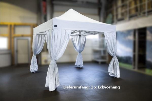 MVL-TENT ® Eckvorhänge für Faltpavillons, Farbe: Weiß. | Alle Serien | Restposten, Gebraucht