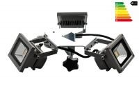 MVL LED Beleuchtung für Faltzelte | Kranz 3 x 10W Hochleistungs-LED