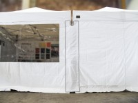 MVL-TENT® Seitenwand-Verbinder mit Klettverschluss für Pavillons 3x3 | 3x4,5 | 3x6m
